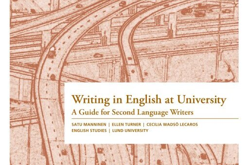 "Cover of the book ""Writing in English at University A Guide for Second Language Writers"""