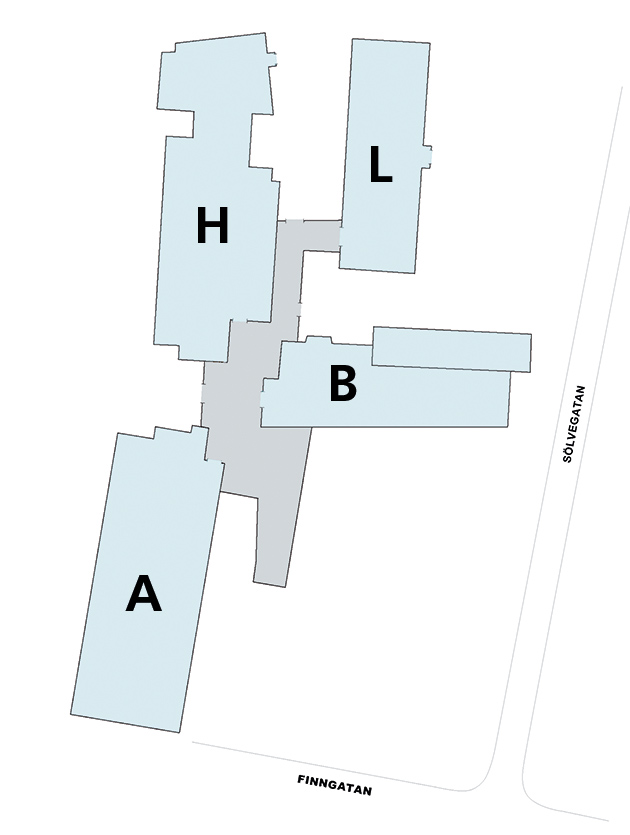 Building map.